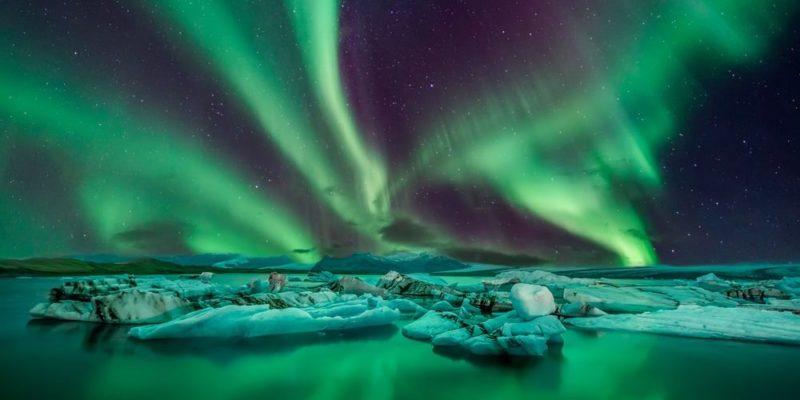 fenomenos naturales aurora boreal