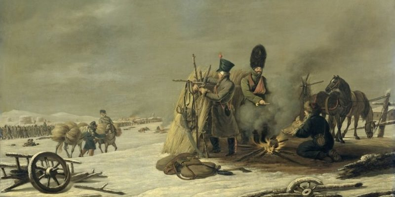 guerras napoleonicas rusia retirada