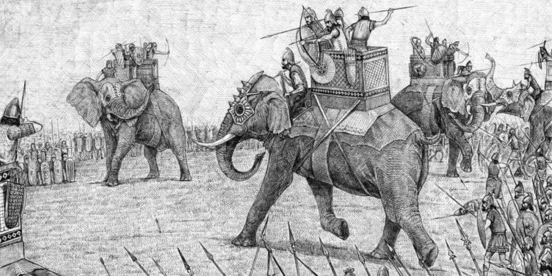 guerras punicas roma cartago hanibal elefantes alpes