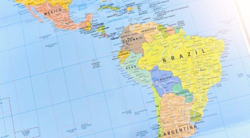latinoamerica america latina mapa paises