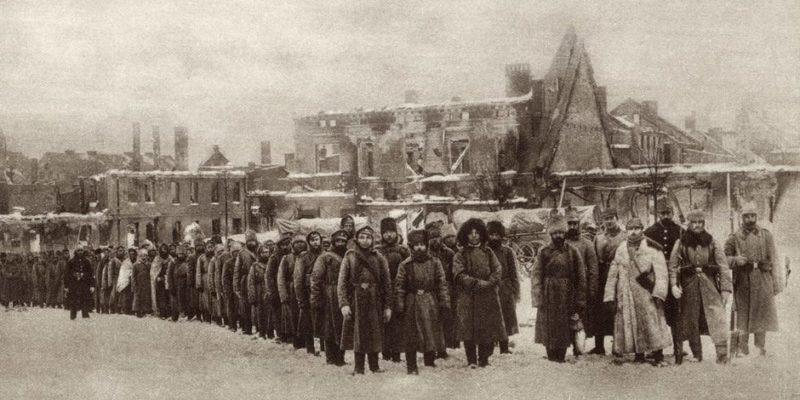 revolucion rusa historia causas derrota primera guerra mundial