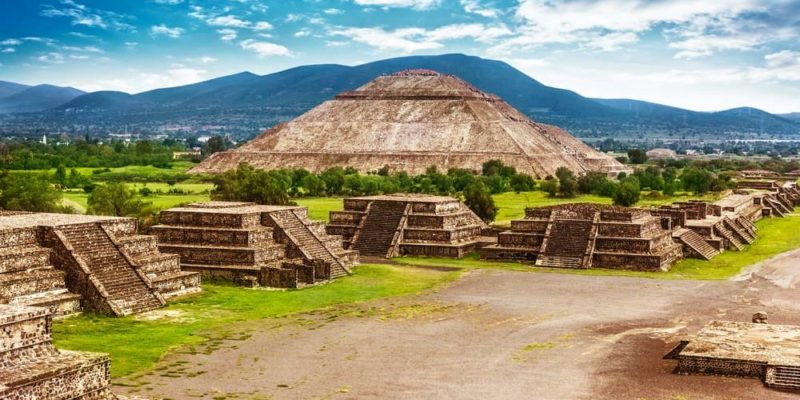 teotihuacan arquitectura piramide del sol