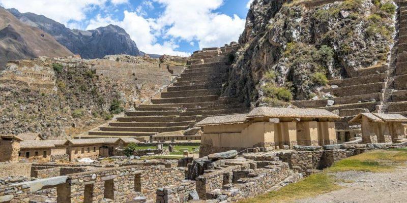 Ollantaytambo cultura inca arquitectura