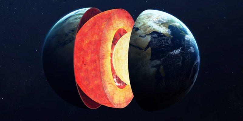 capas de la tierra corteza manto nucleo