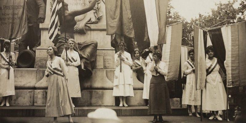 derecho social feminismo voto historia