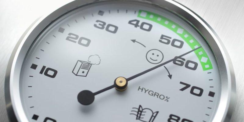 humedad higrometro