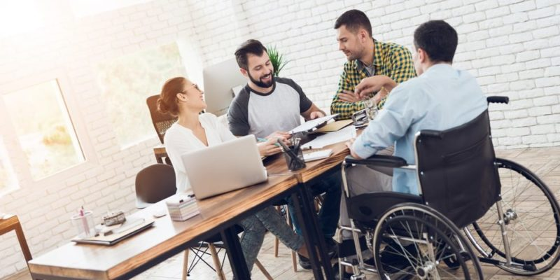 igualdad social discapacidad trabajo