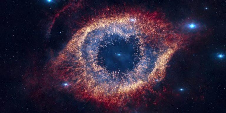 nebulosa helice planetaria