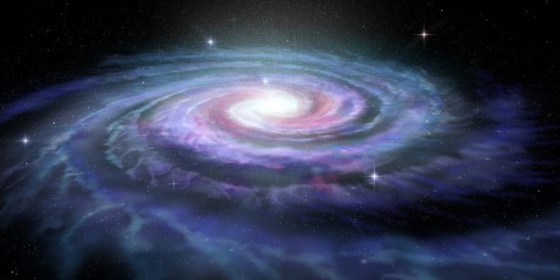 planeta tierra galaxia via lactea