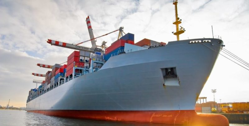 transporte de carga maritimo
