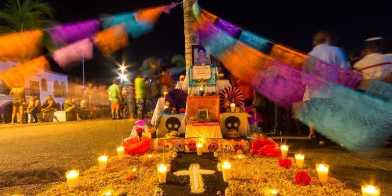 costumbre mexico dia de los muertos altar