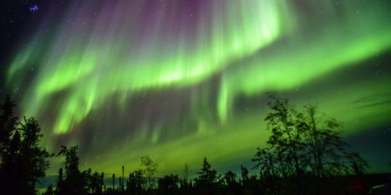 geofisica aurora boreal magnetosfera atmosfera radiacion