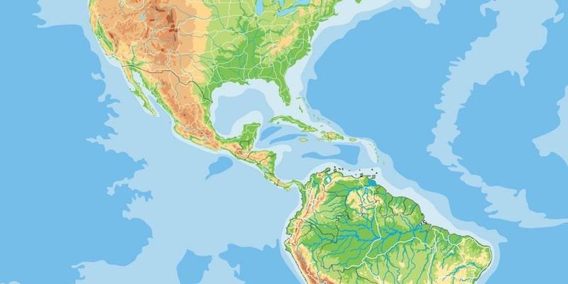 mapa fisico tipos