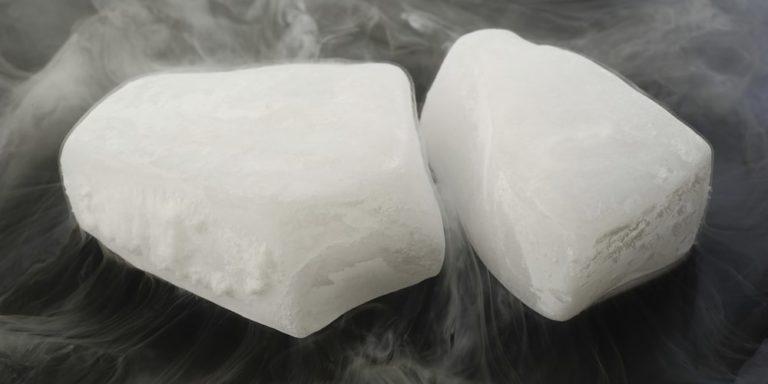 sublimacion progresiva hielo seco