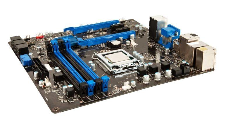 componentes de una computadora hardware interno motherboard