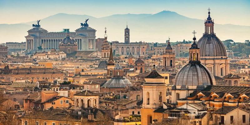 paisaje urbano roma
