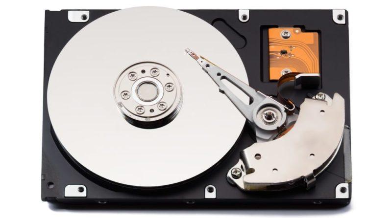 partes internas de una computadora disco rigido
