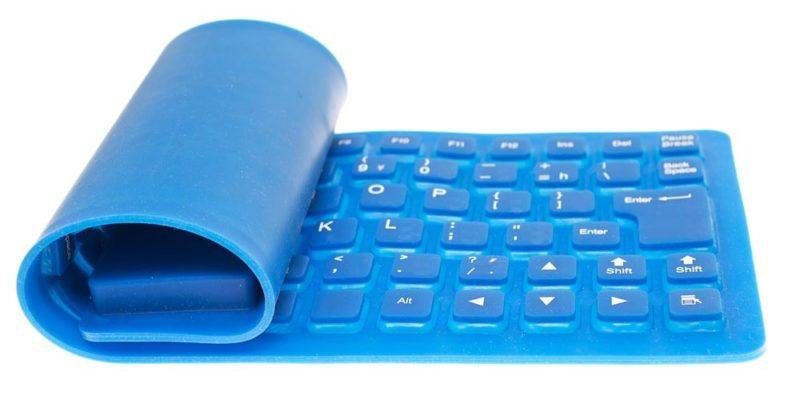 teclado flexible tipos