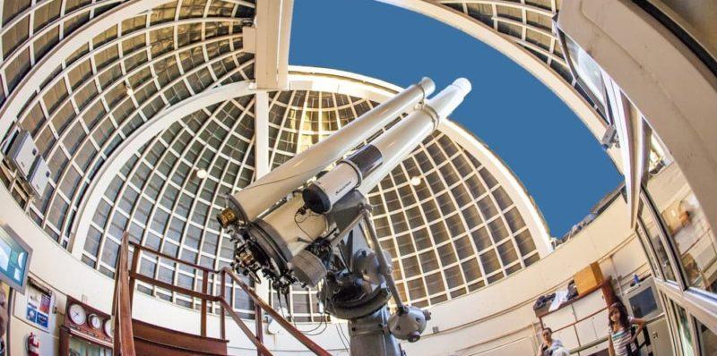telescopio observatorio griffith historia