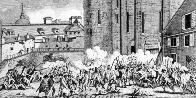 edad contemporanea inicio revolucion francesa
