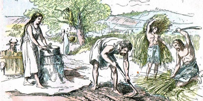 edad de los metales agricultura