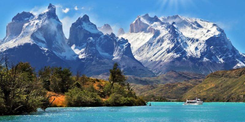 cordillera torres del paine chile andes patagonia
