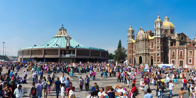 cultura mexicana basilica de guadalupe