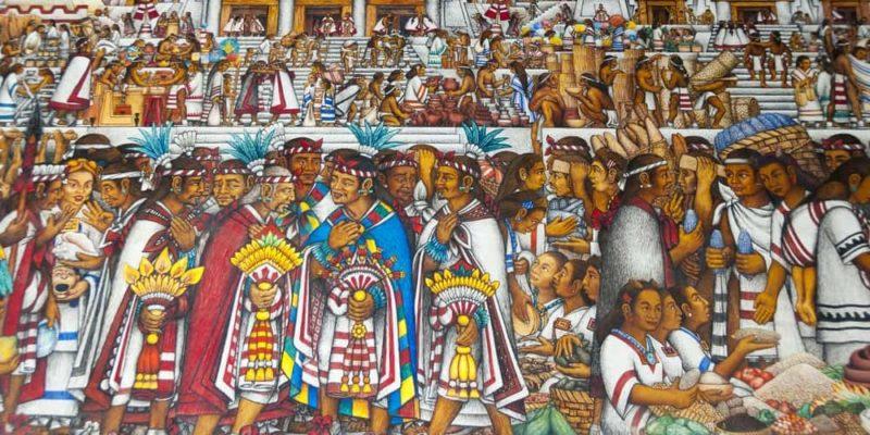 cultura mexicana mural diego rivera arte pintura palacio presidencial