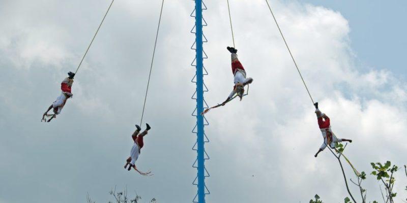 cultura mexicana voladores de paplanta tradicion