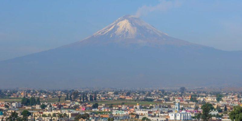 erupcion volcanica popocatepetl mexico