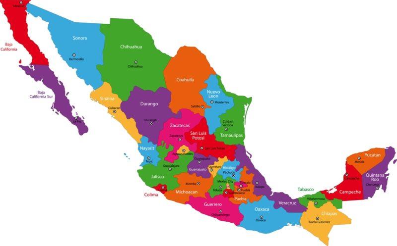 formas de gobierno federacion mexico