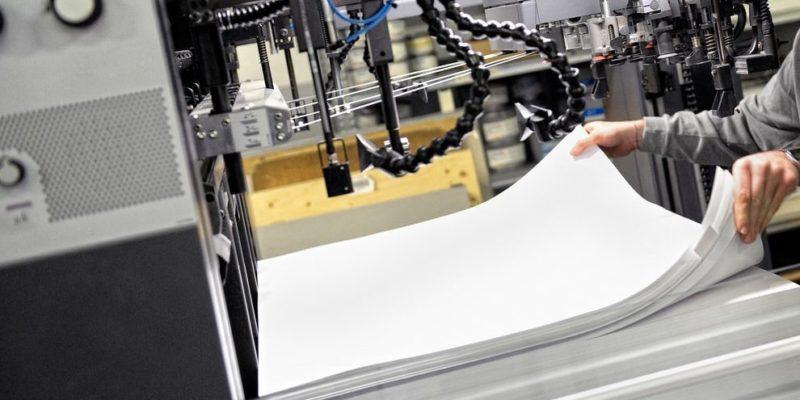 manufactura producto semielaborado papel industria