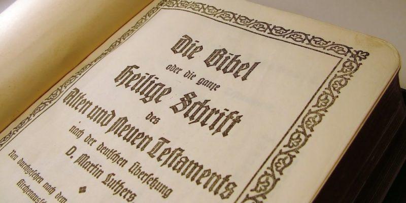 martin lutero reforma protestante traduccion biblia