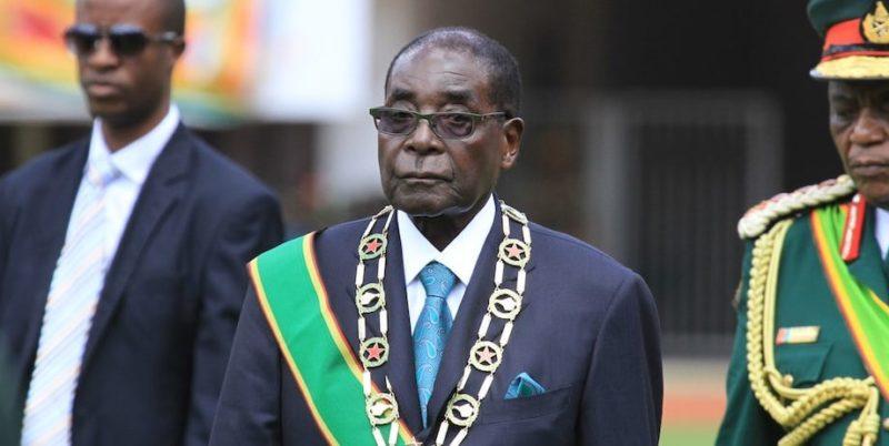 robert mugabe autoritarismo zimbabue