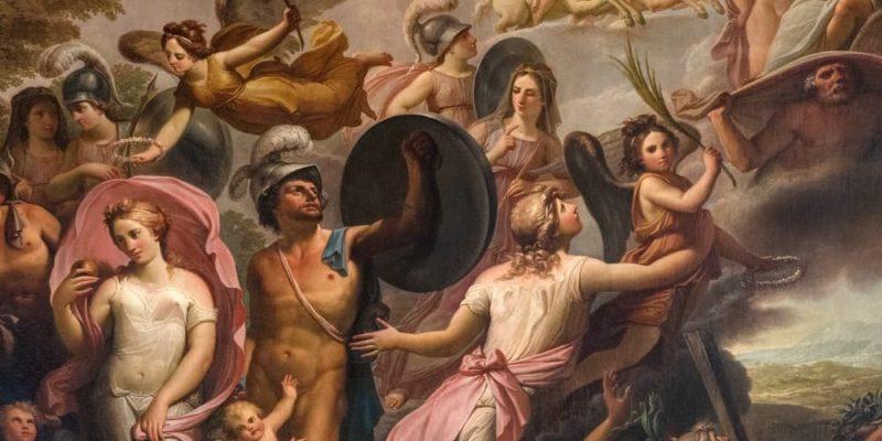 clasicismo tematica mitologia grecorromana