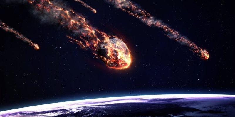 cuerpos celestes meteoros