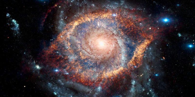 cuerpos celestes nebulosa