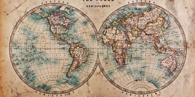 globo terraqueo mapamundi