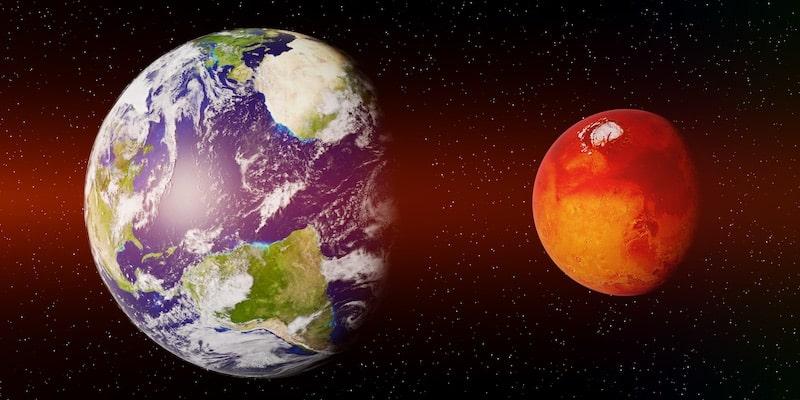 marte caracteristicas tamaño comparacion tierra
