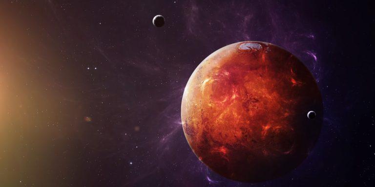 marte planeta sistema solar