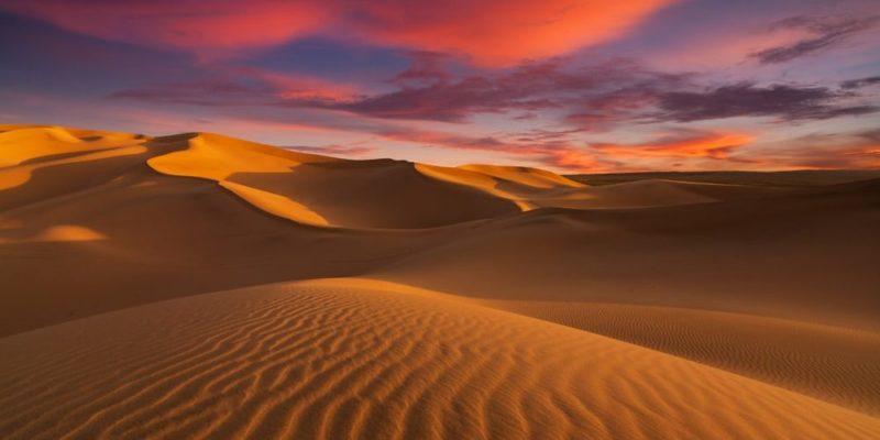 region natural desierto