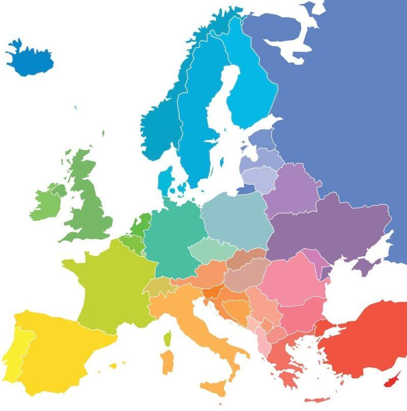 region politica europa