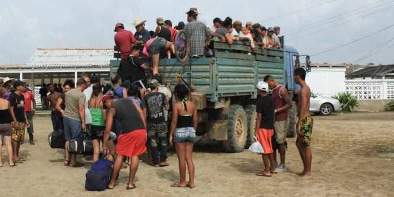 tipos de migracion caravana del triangulo norte de centroamerica