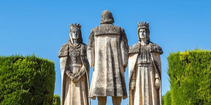 descubrimiento de america personajes reyes católicos cristobal colon
