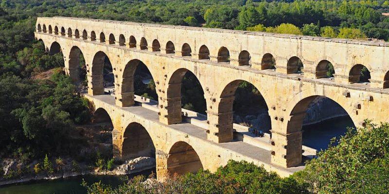 imperio romano arquitectura acueducto