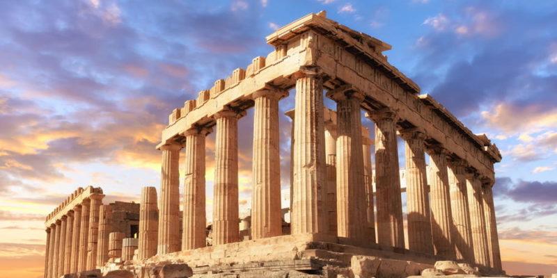 proporcion aurea partenon grecia