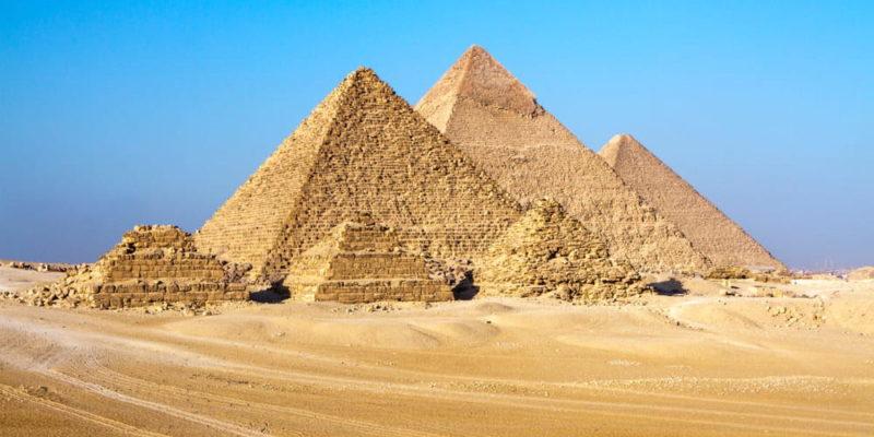 proporcion aurea piramide giza