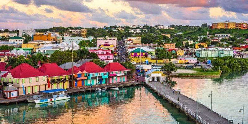 america anglosajona paises capitales antigua y barbuda saint john