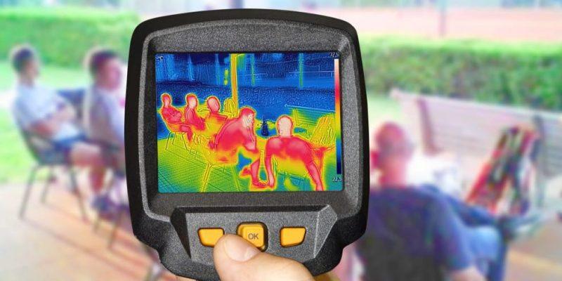 rayos infrarrojos