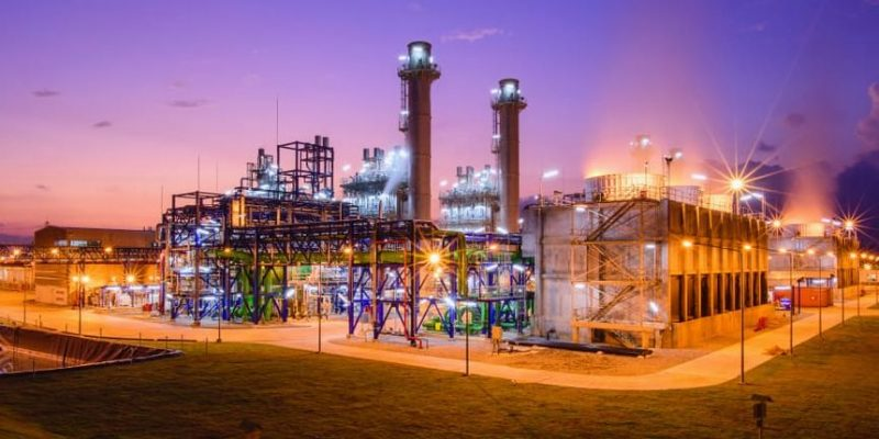 generacion electrica planta de energia